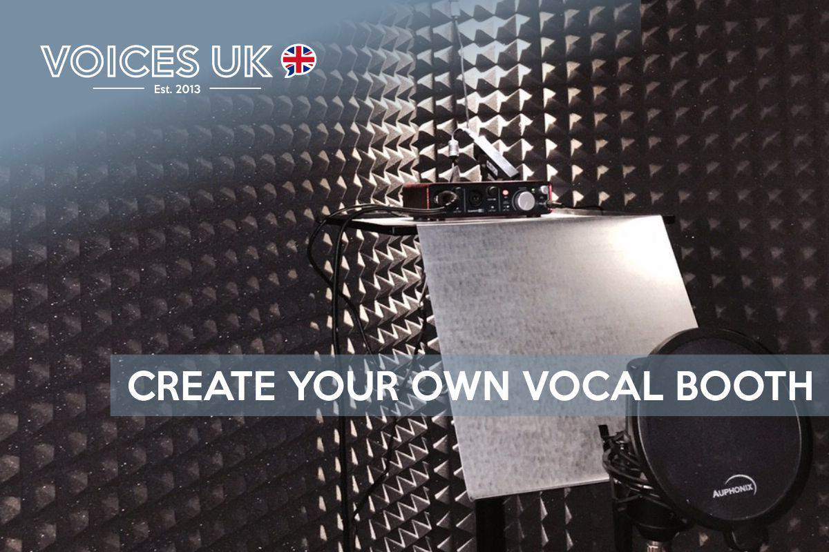 How To Create Your Own Home Vocal Booth Voicesuk